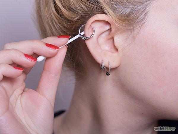helix piercing verzorgen