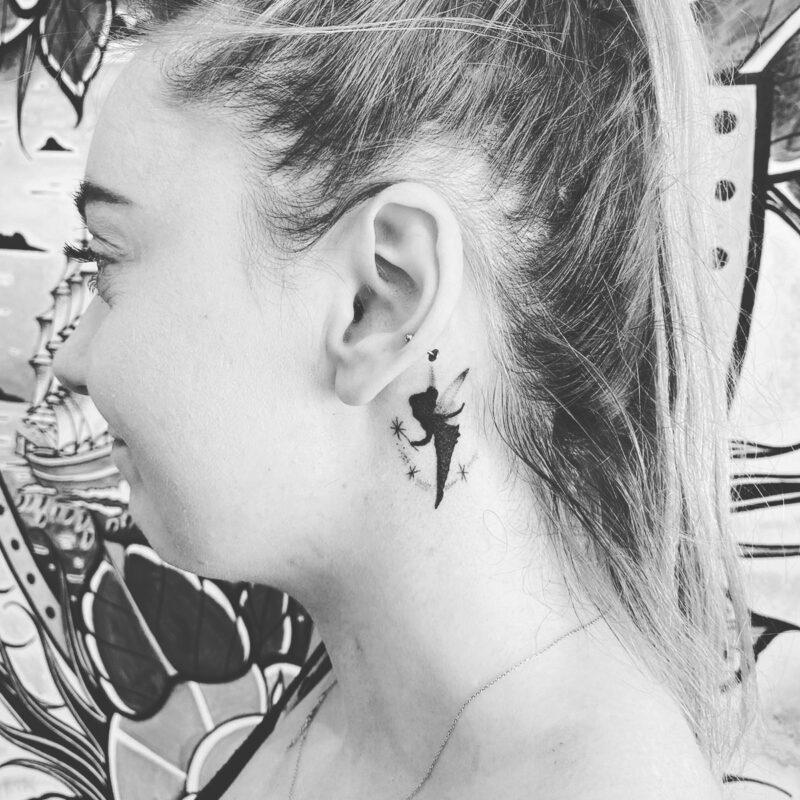 tinkerbel tattoo